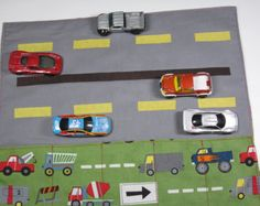Matchbox Car Caddy and Road To Go