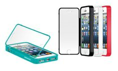 Groupon - Merkury Total Screen Guard Case for iPhone 5/5s in Black, Red, Turquoise, or White. Free Returns. in Online Deal. Groupon deal price: $6.99