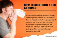 How to Cure Cold and Flu at Home