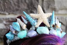Creative Green Living: How to Make a Stunning Mermaid Tiara