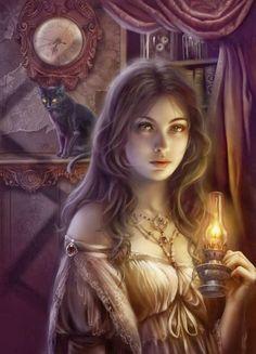 Perséfone dios de la mitología griega. De dulce e inocente convertida en diosa de los muertos y el inframundo tras el rapto.