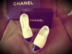 My new Chanel espadrilles ❤