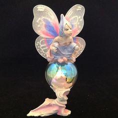 RARE 1989 Rawcliffe Jessica De Stefano Bubble Fairies Twilight Figurine In Box