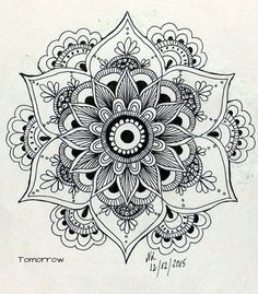 Drawing Of Love Doodles Zentangle Patterns 48 Super Ideas Mandala Design, Mandala Pattern, Zentangle Patterns, Zentangles, Mandalas Painting, Mandalas Drawing, Maori Tattoos, Tatoos, Desenho Tattoo