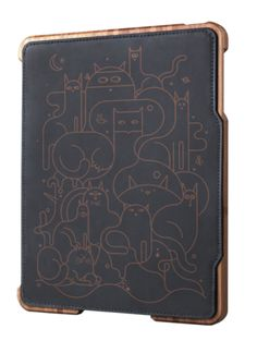 cats iPad case Happy Lovers Town