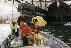 """Tissot """"Entre les deux mon coeur balance Portsmouth-dockyard"""