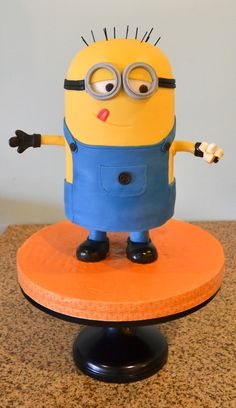 Despicable Me Minion Birthday Cake. REPIN FOR GLOBEMED!