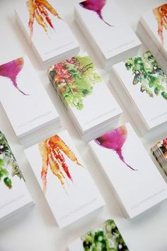 Watercolor Illustration Watercolor Food Art : Branding for Holli Thompson Watercolor Art : by Marta Logo Design, Web Design, Design Art, Print Design, Design Ideas, Corporate Design, Business Design, Watercolor Food, Watercolor Illustration