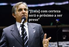 Disso Voce Sabia?: Deputado diz que Lula é cúmplice no 'esquema' de Dirceu e com certeza será o próximo a ser preso