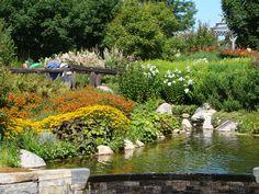 Botanical gardens in Boothbay.