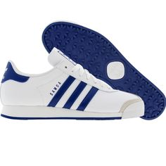 adidas samoa white and blue