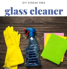 6 Homemade Glass Cleaner Recipes {No Streak and spot free recipes!}