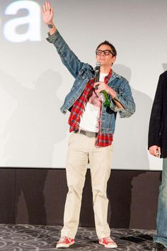 Johnny Knoxville during the Jackass presents: Bad Grandpa premiere.