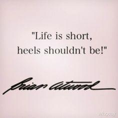 "Lydia McLaughlin's photo """"Life is short, heels shouldn...""  on @WhoSay"