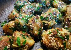 Gujarati potatoes (He Needs Food) indian food recipes Indian Veg Recipes, Gujarati Recipes, Asian Recipes, Indian Foods, Vegetarian Cooking, Vegetarian Recipes, Cooking Recipes, Cooking Tips, Gujarati Cuisine