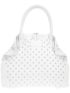 ALEXANDER MCQUEEN Medium 'Demanta' Studded Handbag