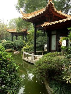 A traditional Chinese garden in Guangzhou (Canton) via TW by All Things Chinese ‏