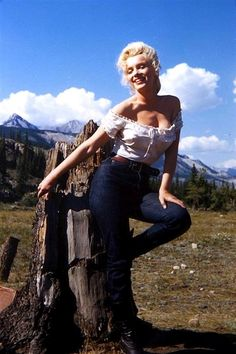 Marilyn Monroe River of No Return 1953