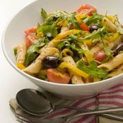 Free mediterranean pasta salad with basil and garlic recipe. Try this free, quick and easy mediterranean pasta salad with basil and garlic recipe from countdown.co.nz.