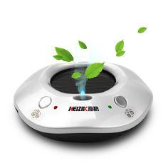 OEM Solar Aromatherapy Anion Air Humidifier Car Air Purifier Air Cleaner