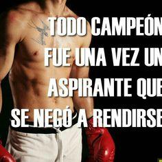 Nunca rendirse!!!