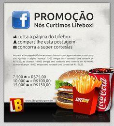 Cliente: Lifebox / Proposta: Peça para promoção nas redes sociais / Desenvolvimento: Igor Alves