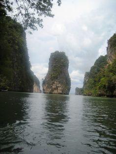 Kayak trip in Phuket, Thailand