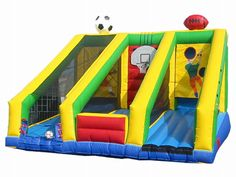 Buy cheap and high-quality 3 N 1 Sports Inflatable Game. On this product details page, you can find best and discount Inflatable Games for sale in 365inflatable.com.au