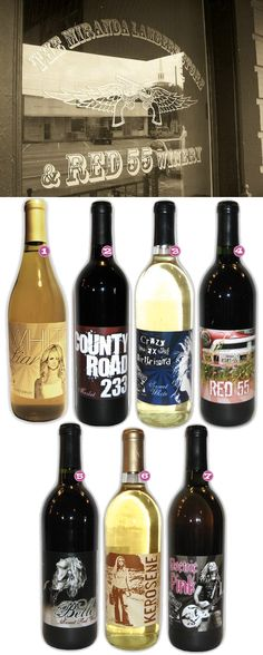 Miranda Lambert Wine!! Want to collect all of these for our new bar!