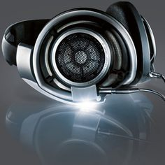 Sennheiser HD 800 Stereo Headphones #sennheiser these loook sooo awesome!