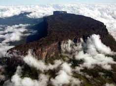 This is the guiana highlands.