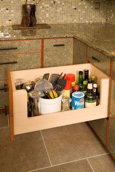 Nobody Stores It Better - eclectic - Kitchen - Seattle - Richard Landon Design