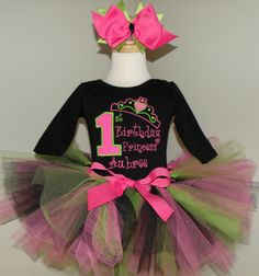 First Birthday Outfits for little girls tutu Cute Perfect 1st Baby