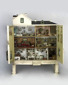 Devonshire Villas (Dolls' house) | V&A Search the Collections