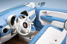 """For the anniversary of the Fiat 500 Spiaggina """"Jolly"""", the Italian maker has revealed two special edition models: the Spiaginna by Garage Italia and the 500 Spiaggina Fiat 500c, Fiat Abarth, Fiat Cinquecento, Fiat 500 Interior, Fiat 128, Fiat 500 White, Fiat 500 Accessories, Fiat 500 Lounge, Nissan Figaro"""
