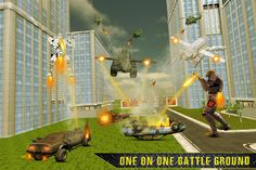 #flying #robot #truck #cars #simulator #fight #andriod #action #3D #game #stunt #war