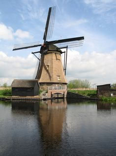 Dutch Windmill 2 stock pack sample by dierat-stock on DeviantArt Netherlands Windmills, Amsterdam Netherlands, Vertical Windmill, Places Around The World, Around The Worlds, Old Windmills, Water Tower, Le Moulin, Covered Bridges