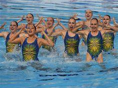 Equipo de Canadá de nado sincronizado