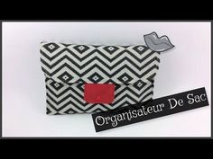 Couture Madalena Coudre une Pochette organisateur de Sac - YouTube Craft Tutorials, Craft Videos, Projects To Try, Pouch, Tote Bag, Purses, Sewing, Accessories, Vide Poche