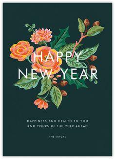 Jardin Noel (New Year Greeting) - Paperless Post