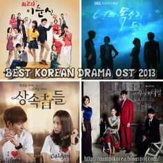 See Korea in My Dream: Best Korean Drama OST 2013