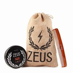 Zeus Pomade and Comb Hair Care Set for Men! – Firm Hold Pomade + Saw-Cut Comb!  BUY NOW     $22.00    The Zeus pomade and comb hair care set is the perfect one-two punch to clean up that top-mop and get you styling for a great v ..  http://www.beautyandluxuryforu.top/2017/03/04/zeus-pomade-and-comb-hair-care-set-for-men-firm-hold-pomade-saw-cut-comb/