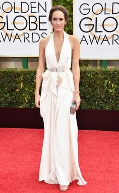 Louise Roe Golden Globes 2015