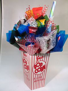 how to make a sweet bouquet box