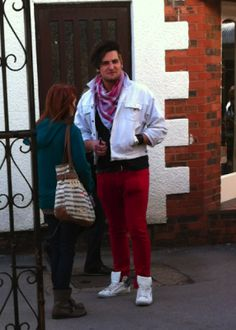Look at my fucking red trousers!: A bloke from Hull who's in a band