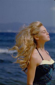 Brigitte Bardot, 1950's.