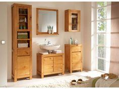 Beautiful Badezimmer Waschbeckenschrank Panama Eiche Badm bel Unterschrank Badschrank Bad in M bel u Wohnen M bel Schr nke u Wandschr nke eBay Pinterest