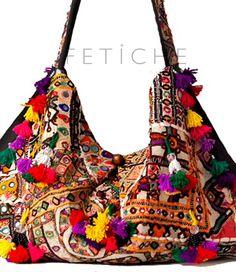 """FETICHE: """"Bolso Hippie Chic""""   De Zapatos a Sombreros"""