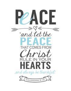 Free Printable Peace_verse_8x10_white