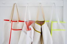 Wrap Pocket Tote | The Purl Bee